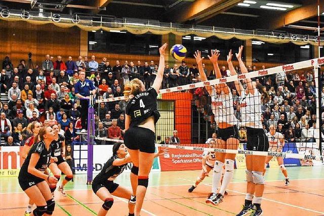 VC Offenburg schlägt München klar und bleibt auf Meisterschaftskurs