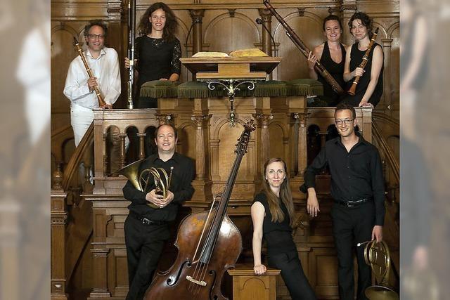 Winds Unlimited präsentiert Harmoniemusiken im Bürgersaal