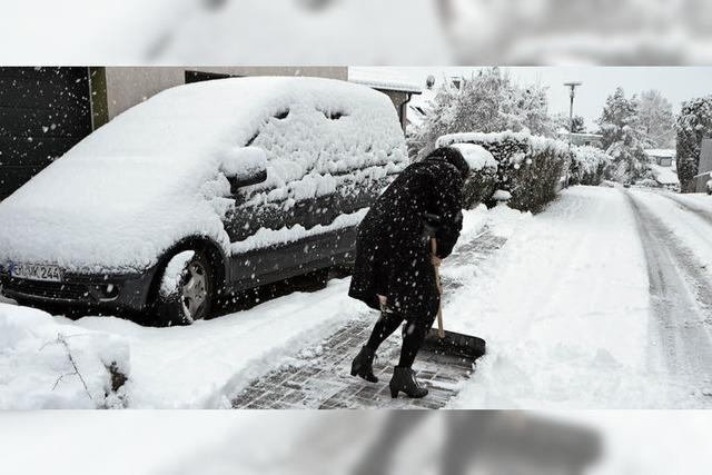 Nächtlicher Wintereinbruch