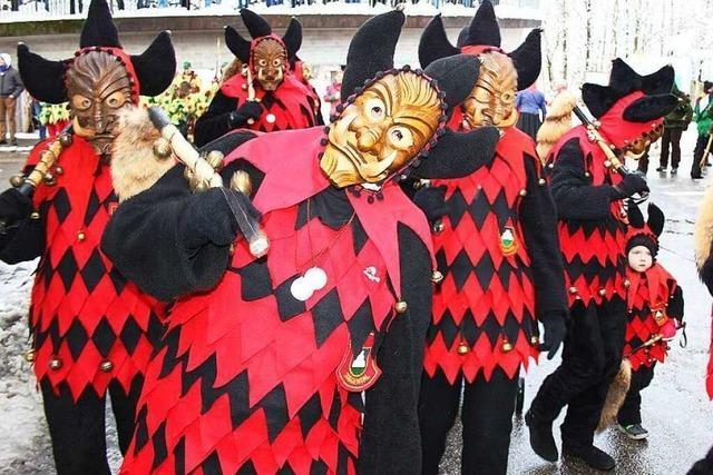 Fotos: Narrenjubiläum der Schreckli in Suggental