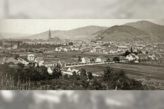 So war der Ausblick vom Lorettoberg auf die Wiehre vor 130 Jahren