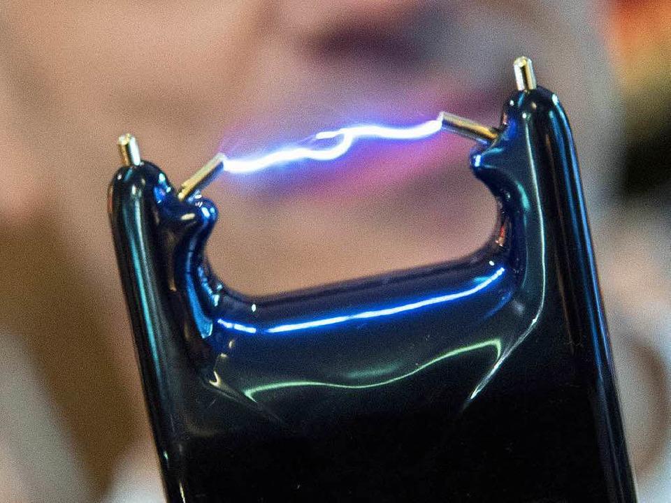 Elektroschocker  | Foto: dpa