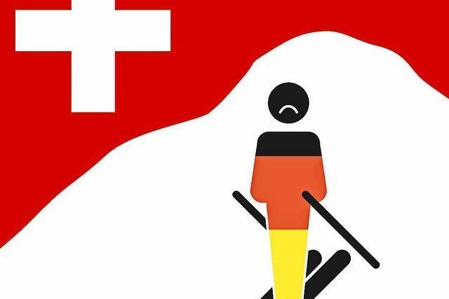 Deutsche reisen nicht mehr oft in die Schweiz