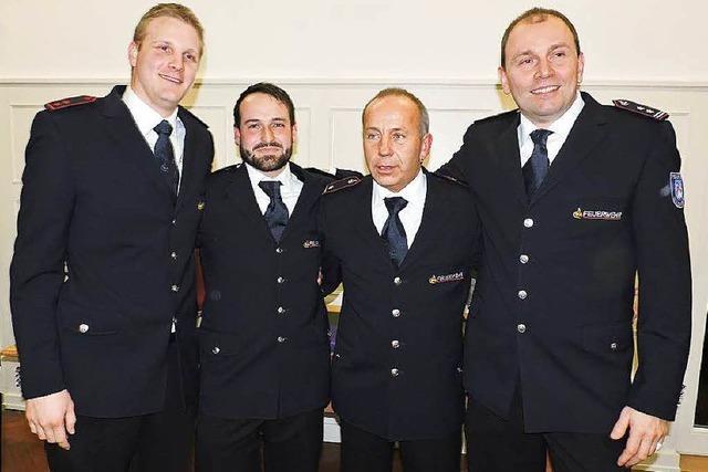 Neuer Kommandant bei der Feuerwehr Kollnau