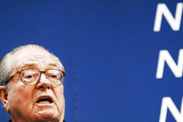 Jean-Marie Le Pen will an erster Basler Pegida-Demo teilnehmen