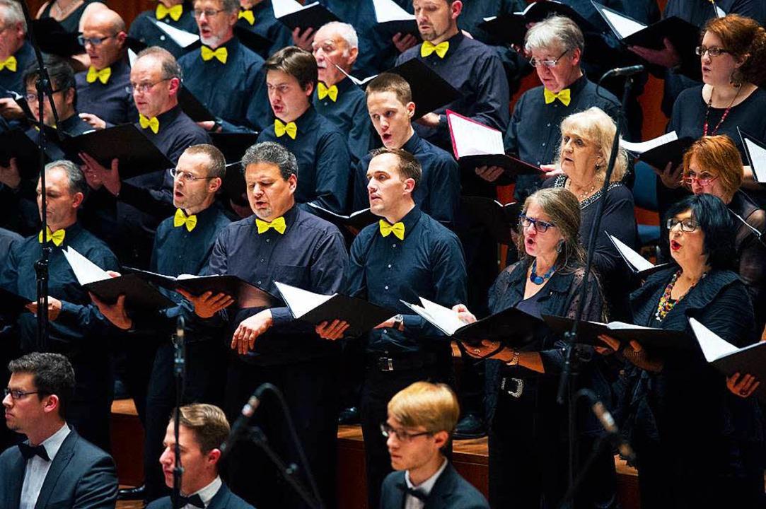 Der Chor.  | Foto: Miroslav Dakov