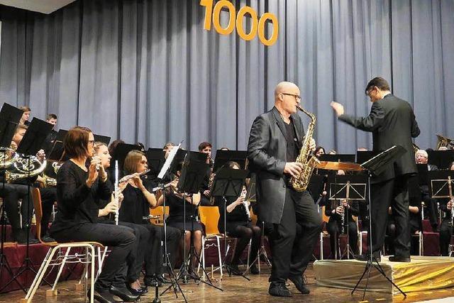 Millenium-Konzert in Friesenheim mit einem Profi