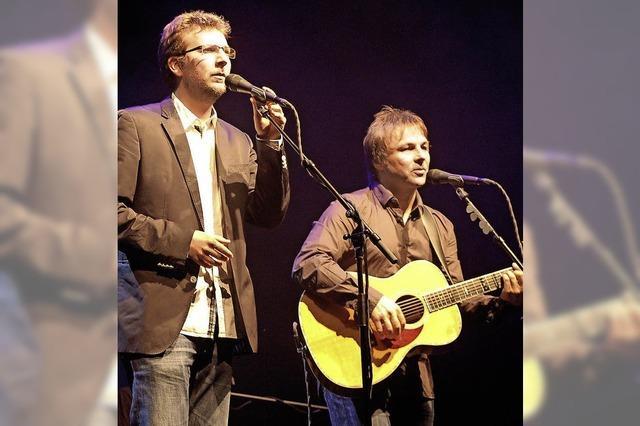 Simon & Garfunkel Revival Band im Gloria Theater