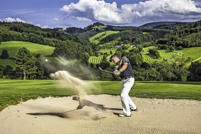 Die Führungsspitze des Golfclubs Ortenau geht
