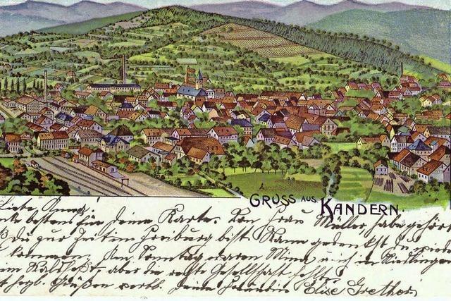 Die historische Kander: wasserreich und von vielen Mühlen gesäumt