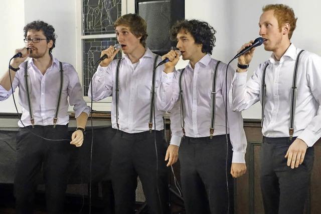 Ein charmantes Quartett