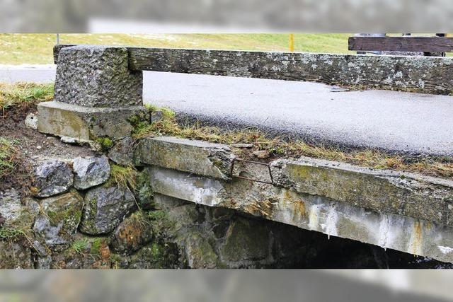 Sanierung der Brücke wird aufgeschoben