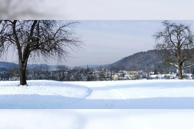 Schopfheim, ein Wintermärchen