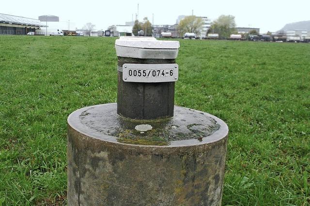 DSM pumpt das Wasser ab