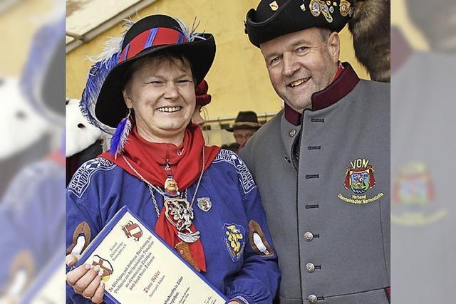 Orden für Diana Böhler