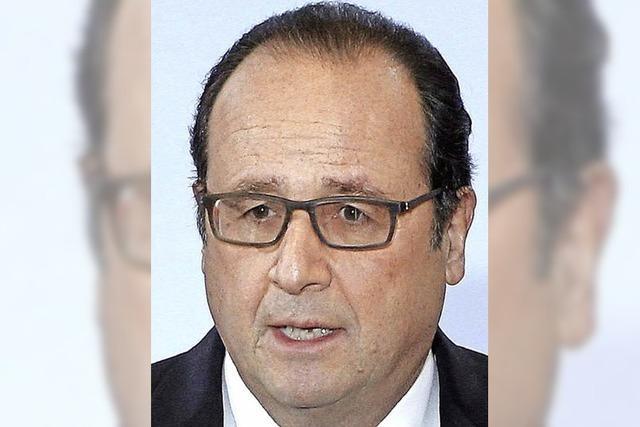 Hollande verspricht zwei Milliarden Euro für neue Jobs