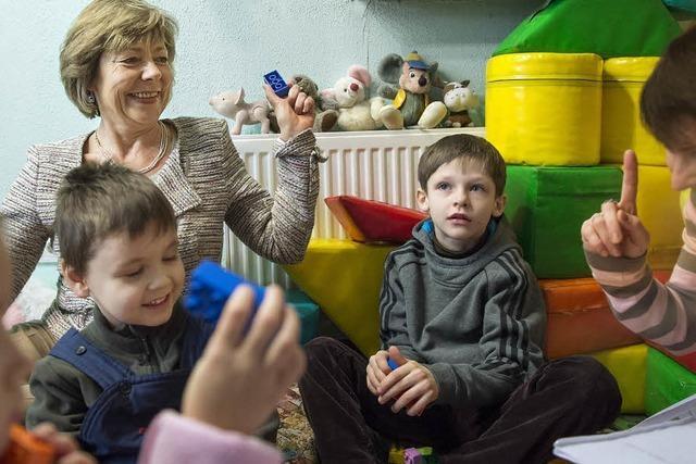 Hilfe für Kinder in der Ukraine