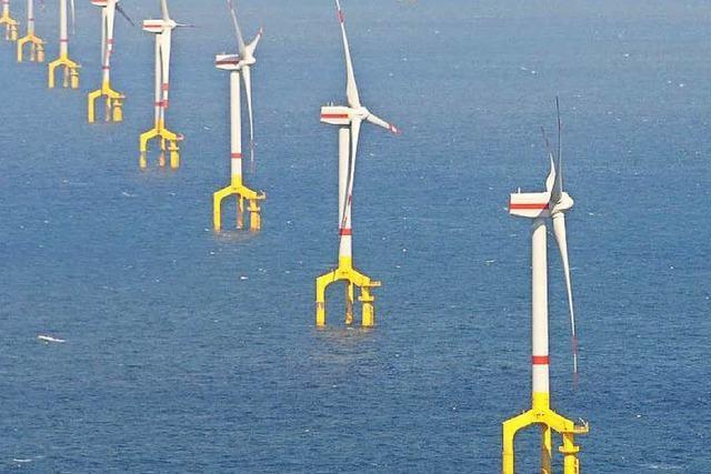 So viele Windräder auf See wie nie zuvor