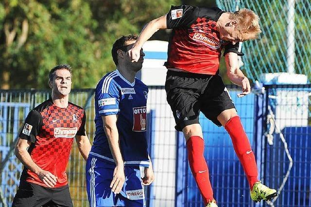 Testspiel: SC Freiburg spielt 1:1 gegen FC Luzern