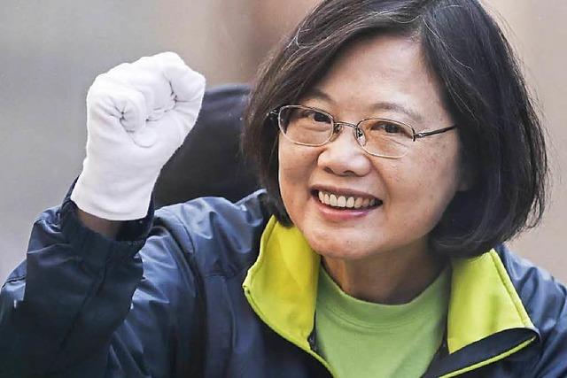 Kantersieg von Tsai Ing-wen – der