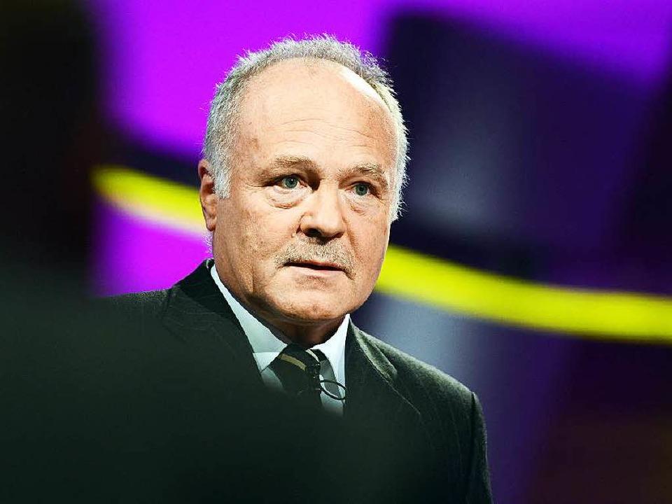 SWR-Intendant Peter Boudgoust hätte di...or der Landtagswahl teilnehmen lassen.  | Foto: dpa