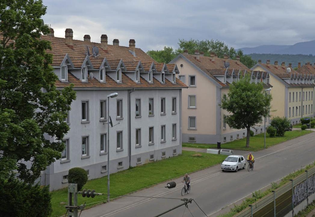 Werden saniert: Die Häuser an der Neubronnstraße.   | Foto: Walser