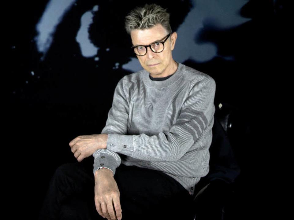 Bowie am Ende seines Lebens: Promoaufn...20;, das kurz vor seinem Tod erschien.  | Foto: dpa
