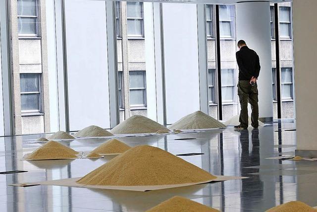 Weltbevölkerung aus Reis
