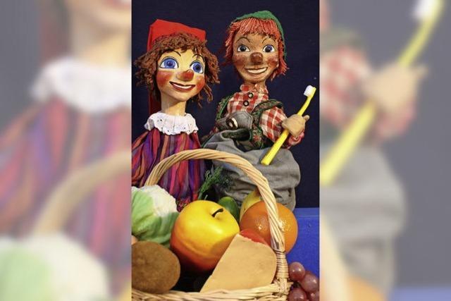 Freiburger Puppenbühne: Hexe Klapperzahn
