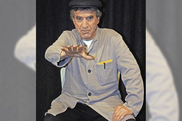 Vom Leben des Theaterhausmeisters Huber