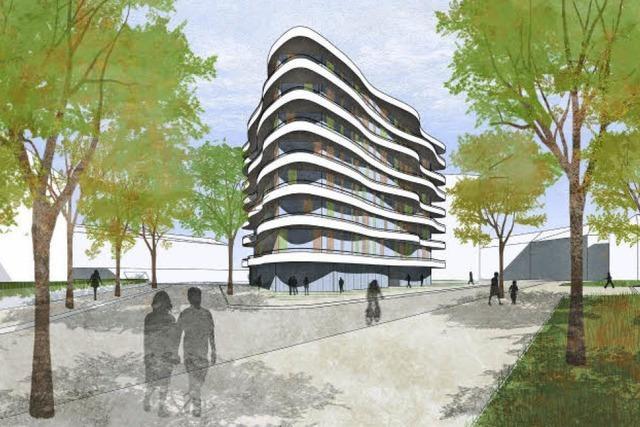 Stadtbau plant kuchenstückförmiges Haus in Herdern - Bürgerverein übt heftige Kritik