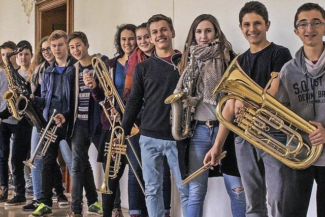 Freiburger Schüler Jazzorchester spielt im Jazzhaus