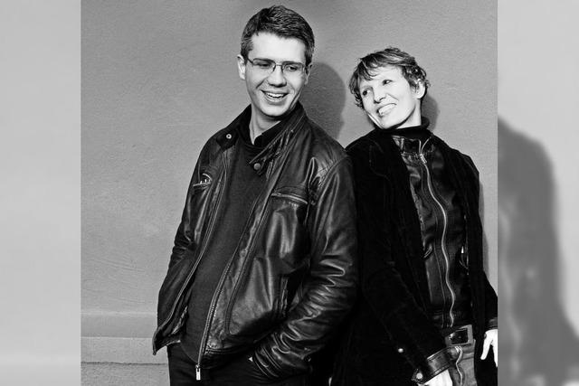 Joanne Calmel und Hans Kretz spielen im Depot K.