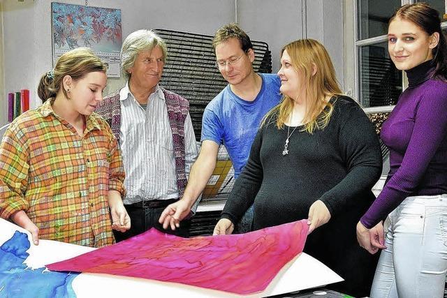 Kunstschule leistet jungen Kreativen Starthilfe