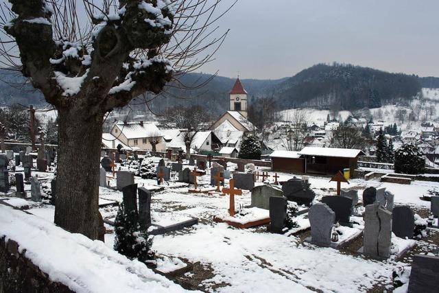 Der Friedhof soll ansehnlicher werden