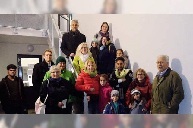 Große Hilfsbereitschaft für Flüchtlinge