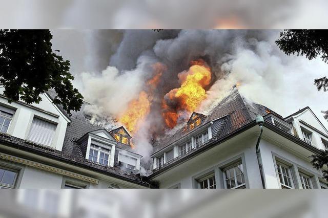 Die Villa Bauer steht heute deutlich besser da als vor dem Brand