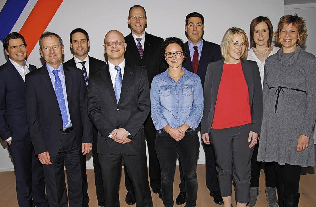 Der neue Vorstand  (von links): Martin...Verena Siegfried und Nicole  Maurer.    | Foto: HAns-walter Mark