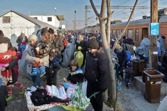 Hilfe auf dem Weg durch Europa