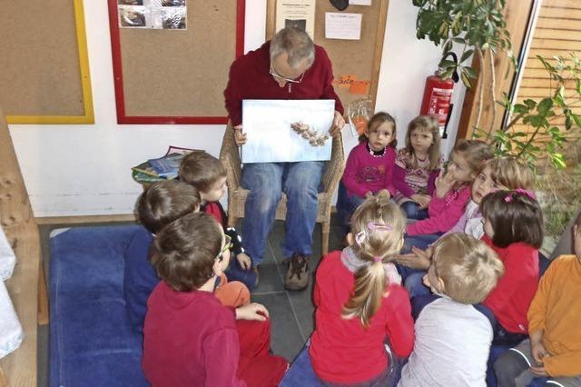 Als Lesepaten im Kindergarten