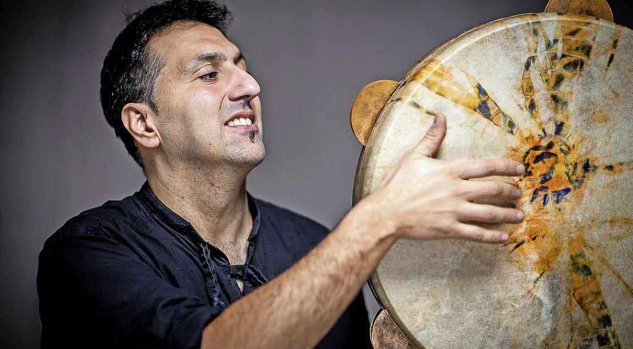 Murat Coskun  ist einer der Musiker beim Fest der Begegnung im Burghof.      Foto: ZVG