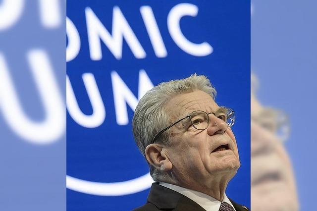 Gauck wünscht sich