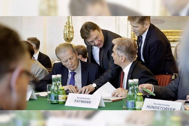 Österreich setzt Asyl-Obergrenze