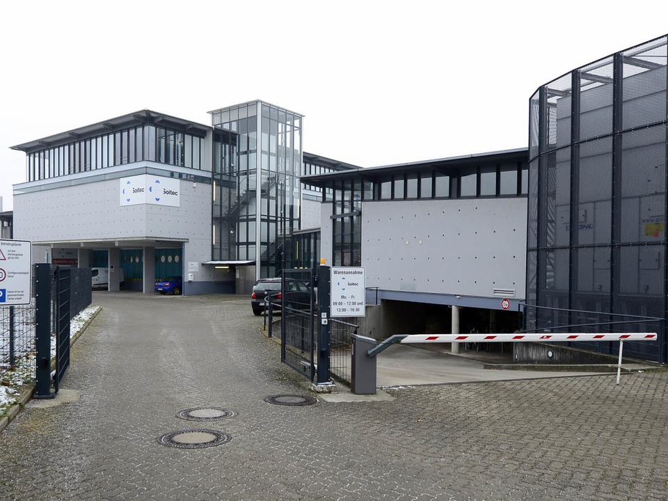 Nun steht es fest: Das Bundesamt für M...ine Außenstelle im Gewerbegebiet Haid.  | Foto: Ingo Schneider