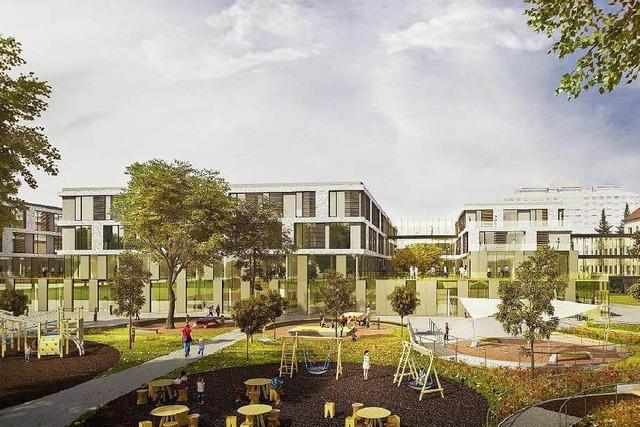 In Freiburg entsteht eine 120 Millionen Euro teure Kinderklinik