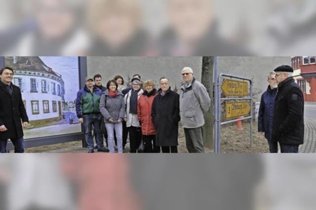 Himmelsbach-Eck erinnert an früheres Kleidergeschäft