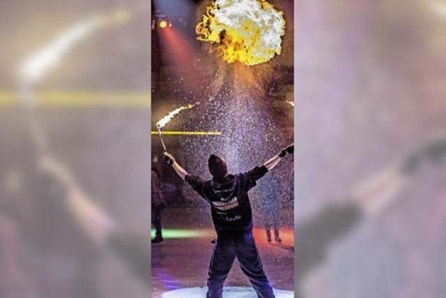 Germans best Freestyler in Herrischried in der Eissporthalle zum 35-jährigen Bestehen