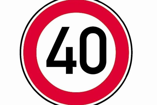 Tempo 40 kommt in Wylert gut an