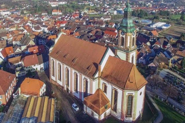 Drohnen-Video zeigt Ettenheim aus der Vogelperspektive