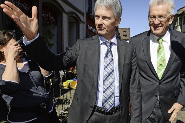 Kein Platz für Winfried Kretschmann in Staufen